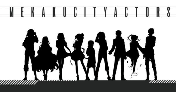 Mekaku City Actors character pv ene