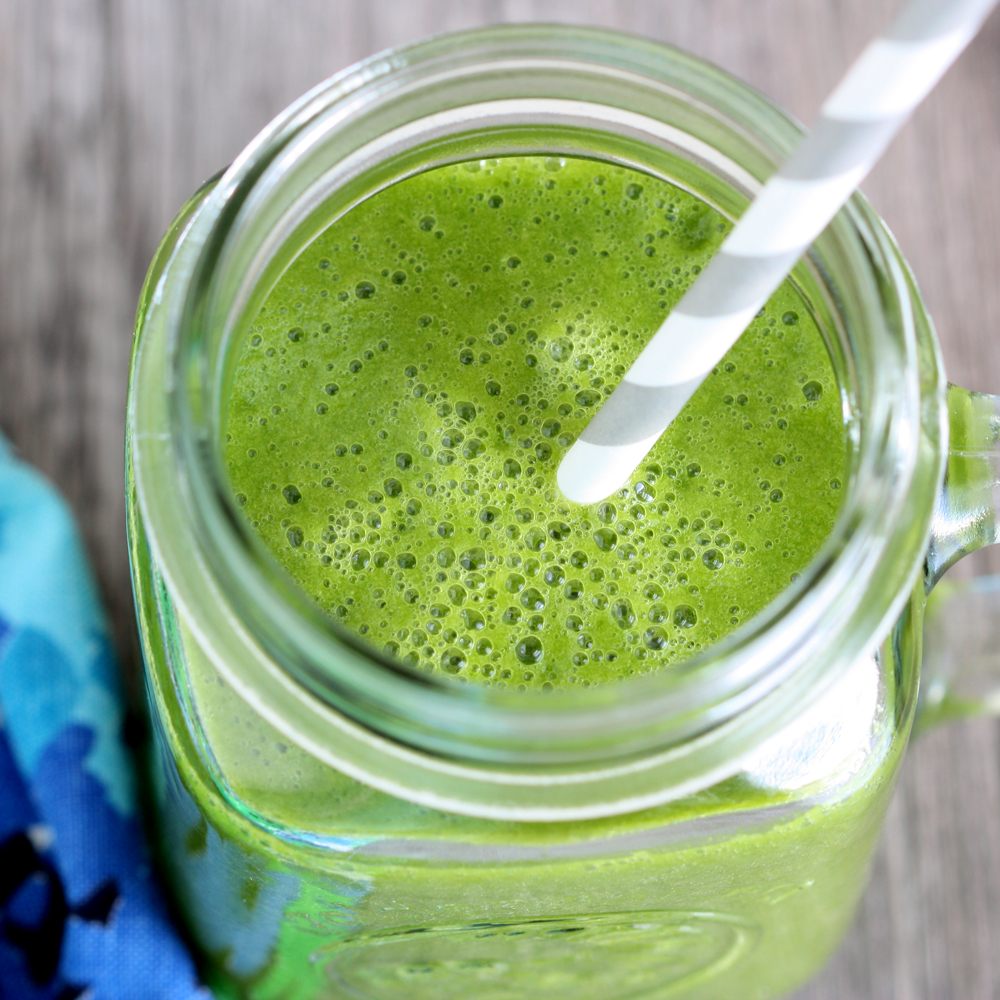 Green Monster Smoothie Recipe — Dishmaps