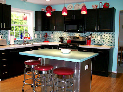 Home Decorista: The 1950's diner style
