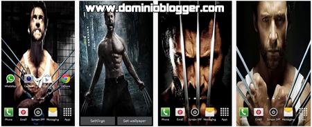Fondos en HD Wolverine Live Wallpaper