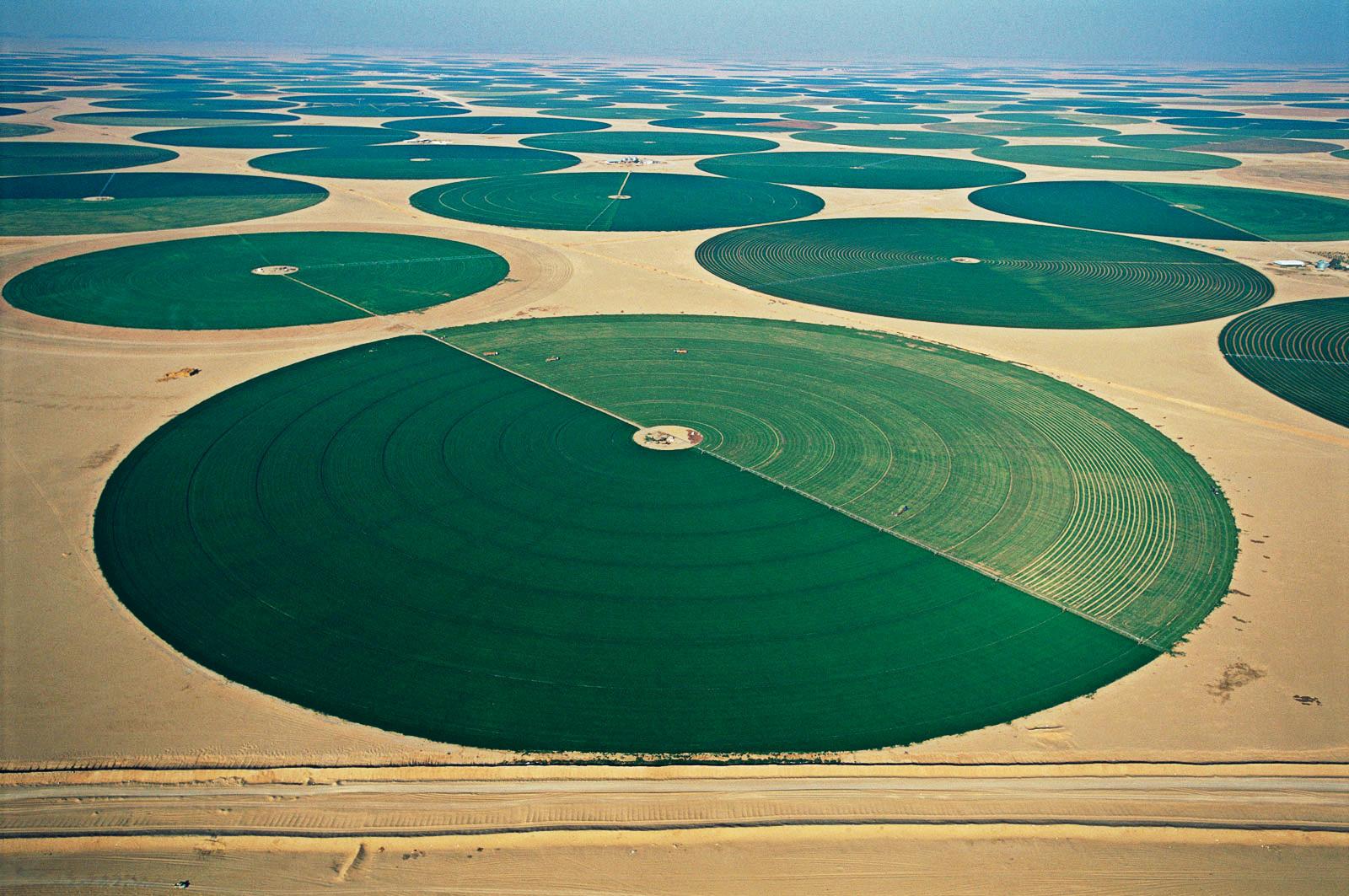 Орошаемое земледелие в пустянях
