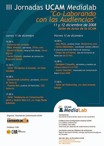 Co-laborando con la audiencia y el Ucammedialab 2008