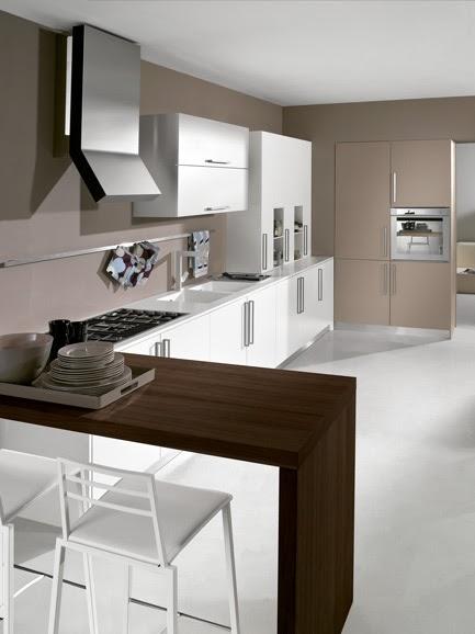 Arredissima la cucina con penisola secondo arredissima - Cucina moderna penisola ...