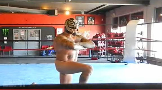 Rey Mysterio Jr Desnudo para Body Issue Latinoamérica