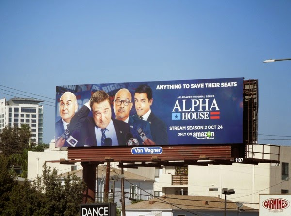 Alpha House season 2 billboard