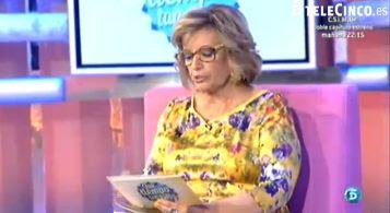 María Teresa Campos, en su program del pasado domingo, donde llamó sobrado a Ferrer