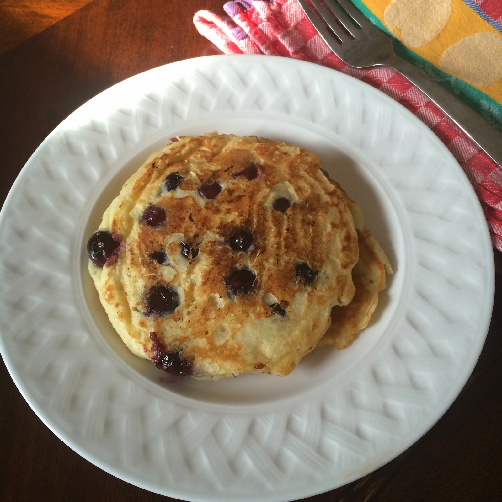 Lemon Blueberry Pancakes, Breakfast, Brunch, Recipe