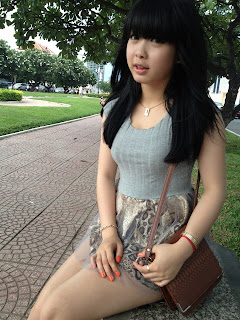 Viya Yasaki Phnom Penh Cute Girl Sexy Mini Skirt 3