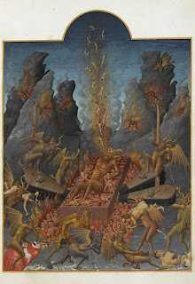 Hell by Limbourg brothers (1385–1416)