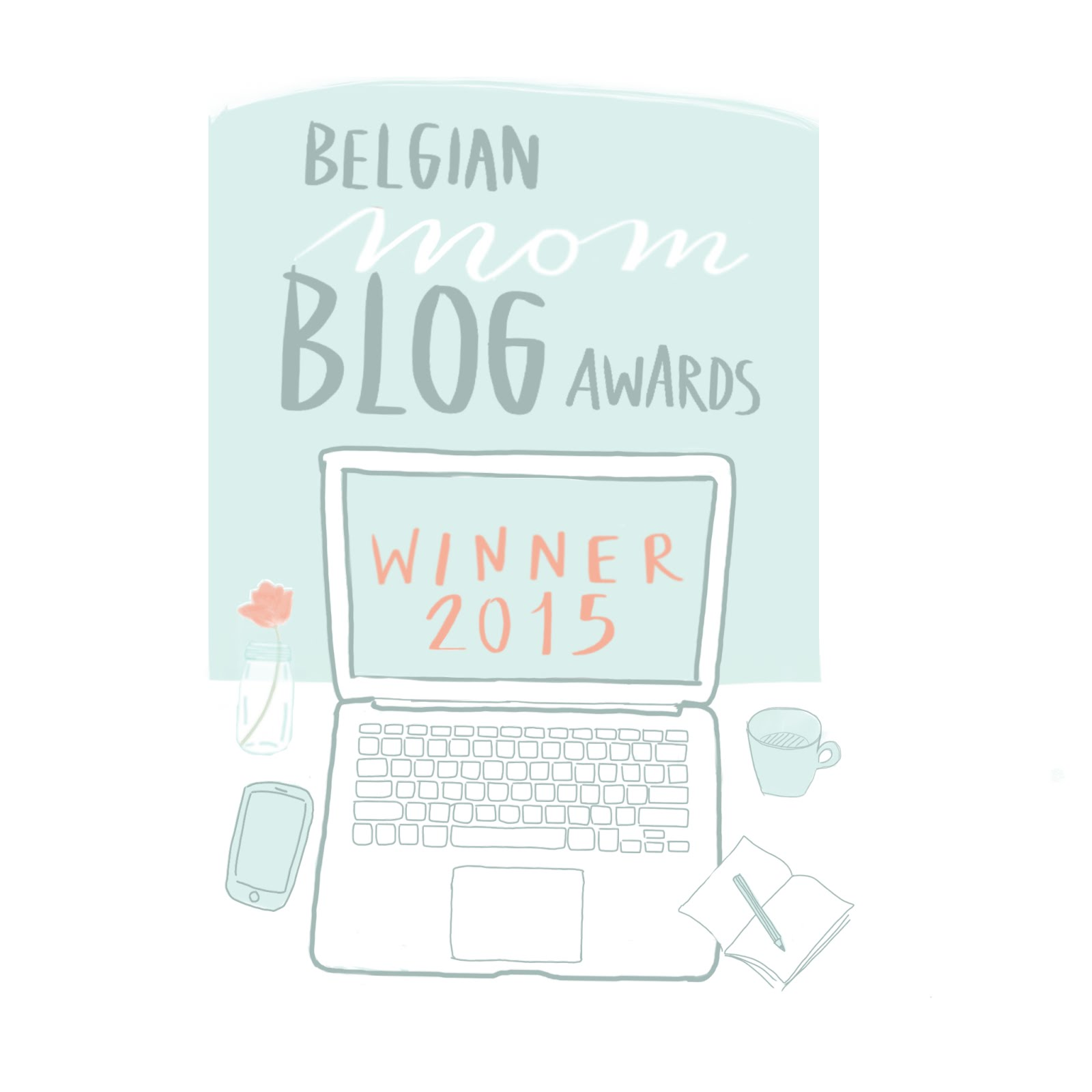 Belgian Blog Awards winner