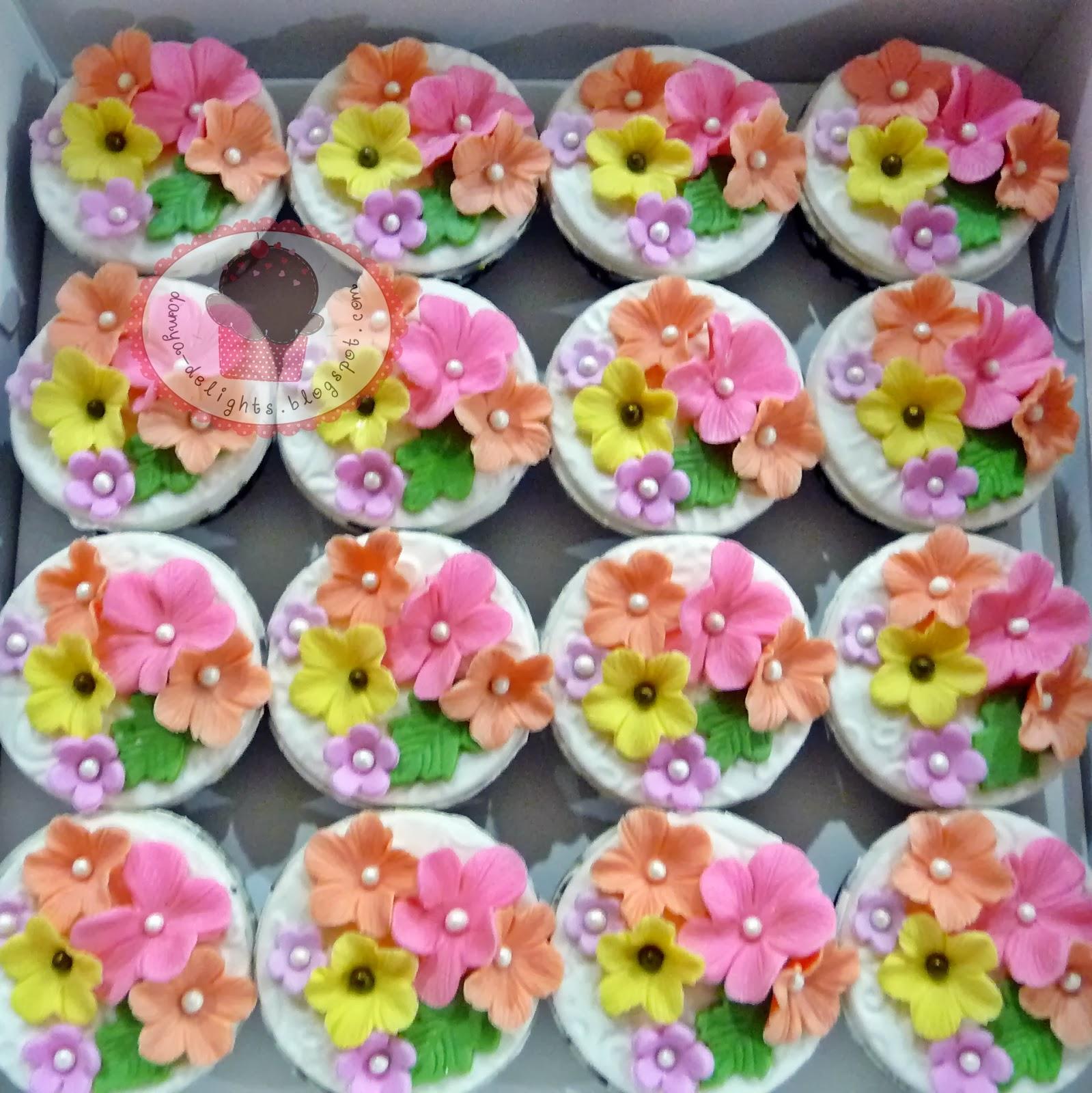 Fondant Cupcakes - Hantaran Set