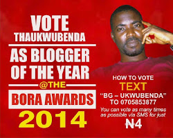 VOTE FOR THAUKWUBENDA