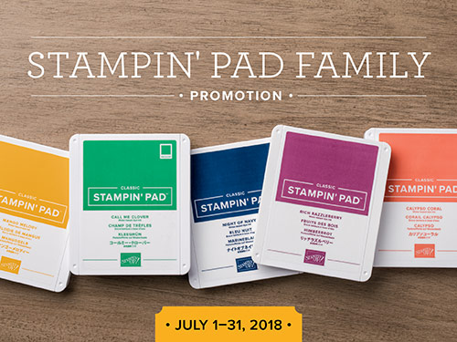 Limited-Time Offer: FREE Ink Pad Assortment with Starter Kit
