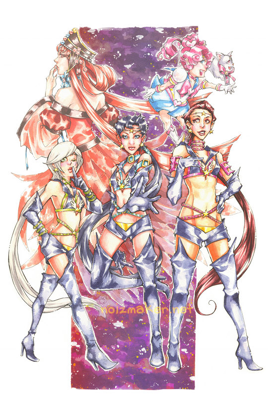 Sailormoon: Sailor Starlights por karniz
