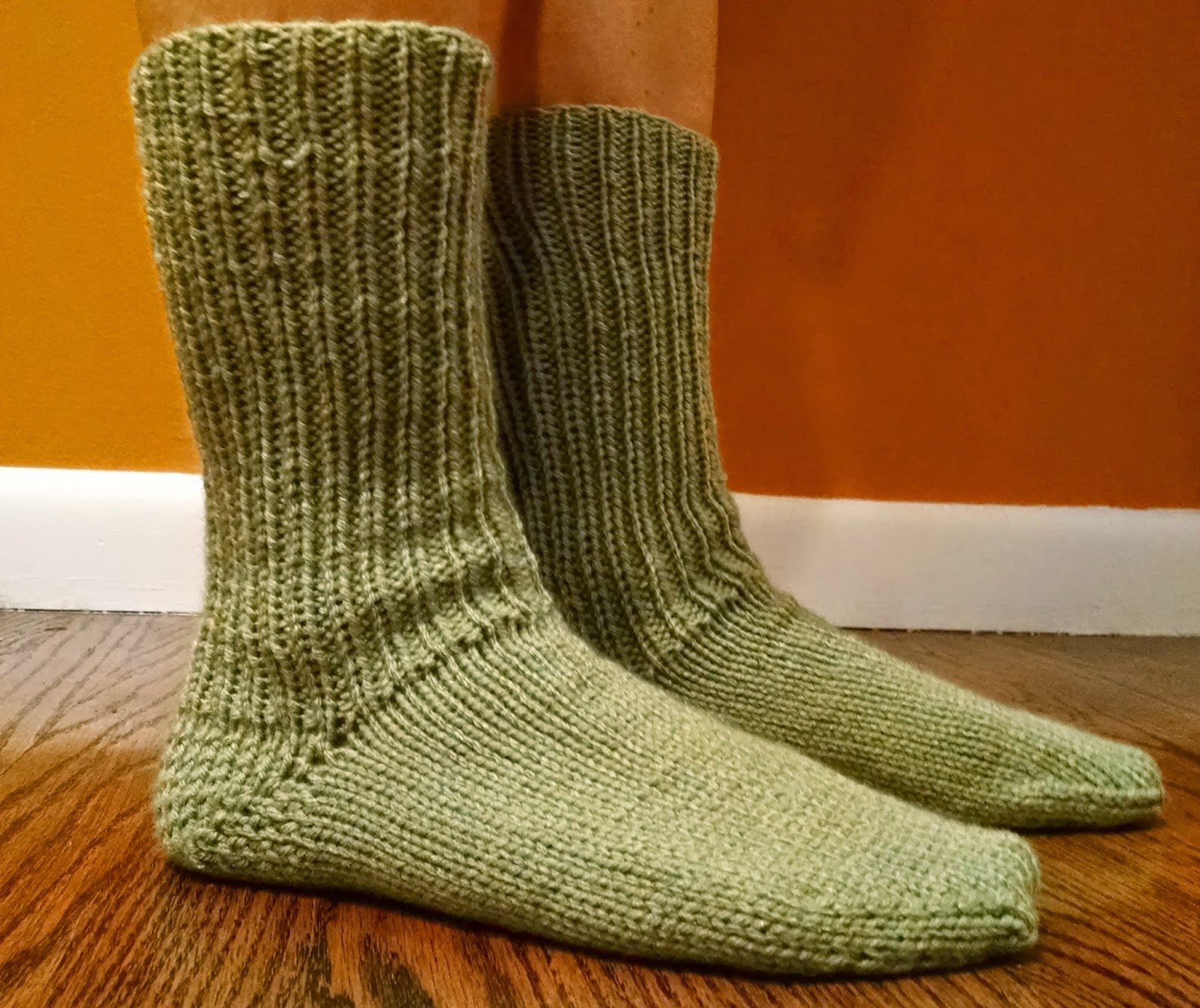 Slouch Socks Knitting Pattern : Slouch Socks in the Knitted Slipper Book Knit A Bit Crochet Away