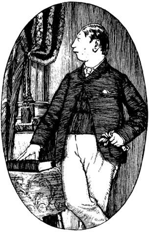 Augustus Carp - the book illustration
