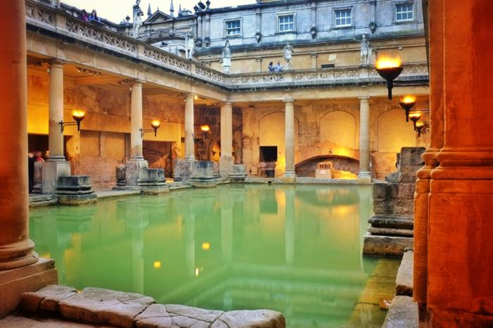 arhitectura bai romane