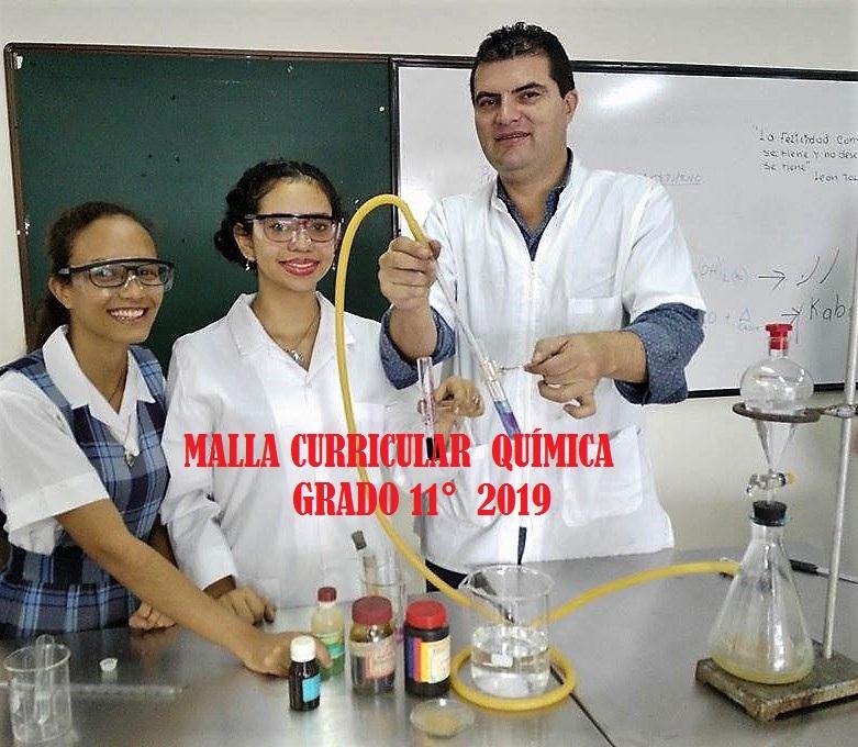 MALLA CURRICULAR QUÍMICA 11°