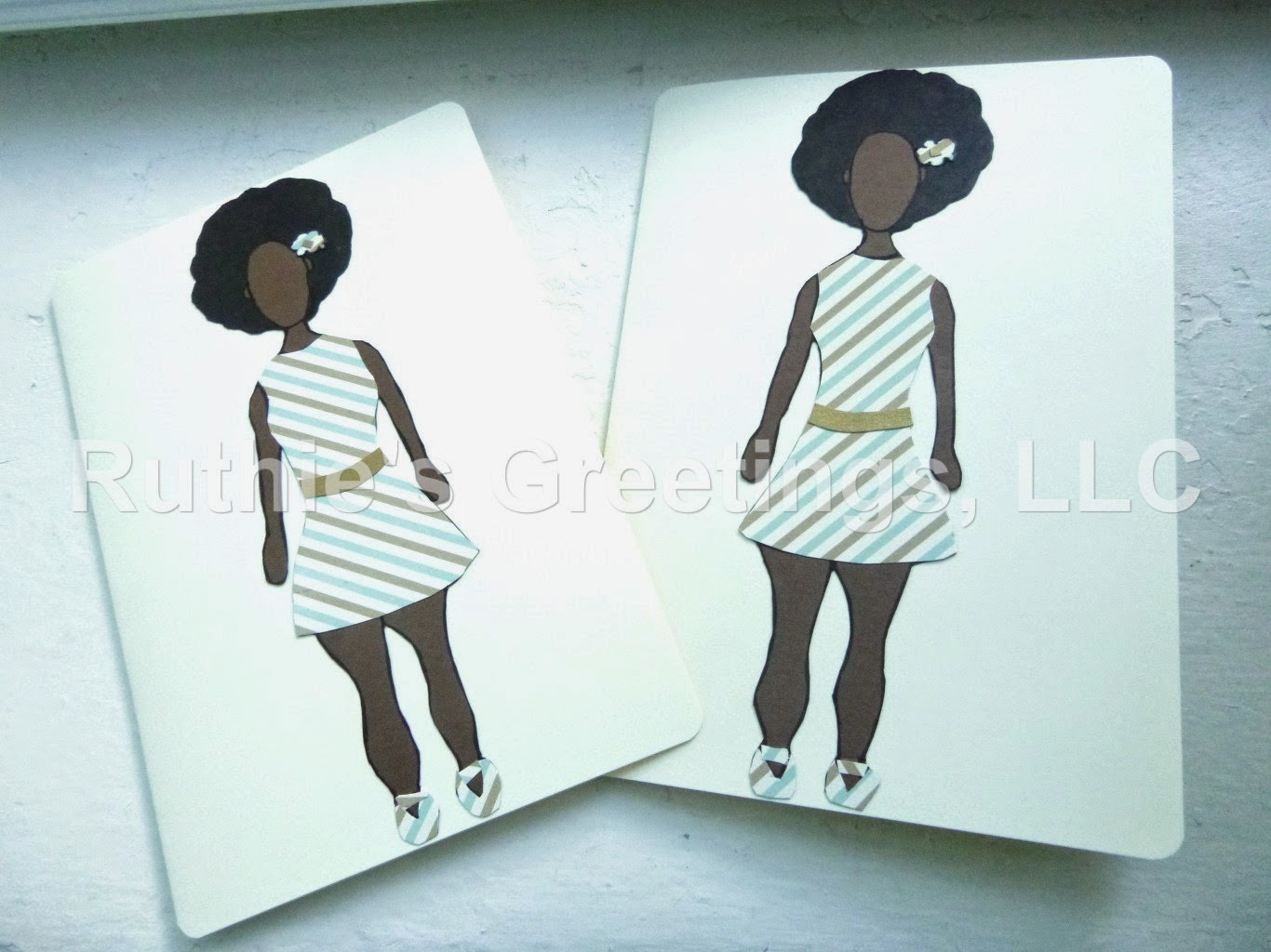 New african american birthday and blank cards on etsy the fraternal twins afro style blank greeting cards from the ruthies greetings etsy shop kristyandbryce Gallery