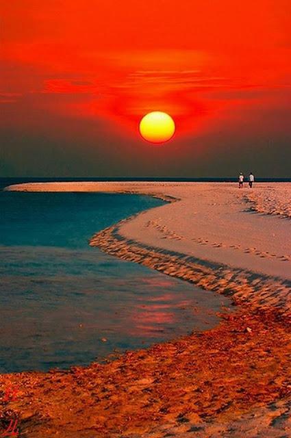 Foto Panorama Sunset yang Mengagumkan-1