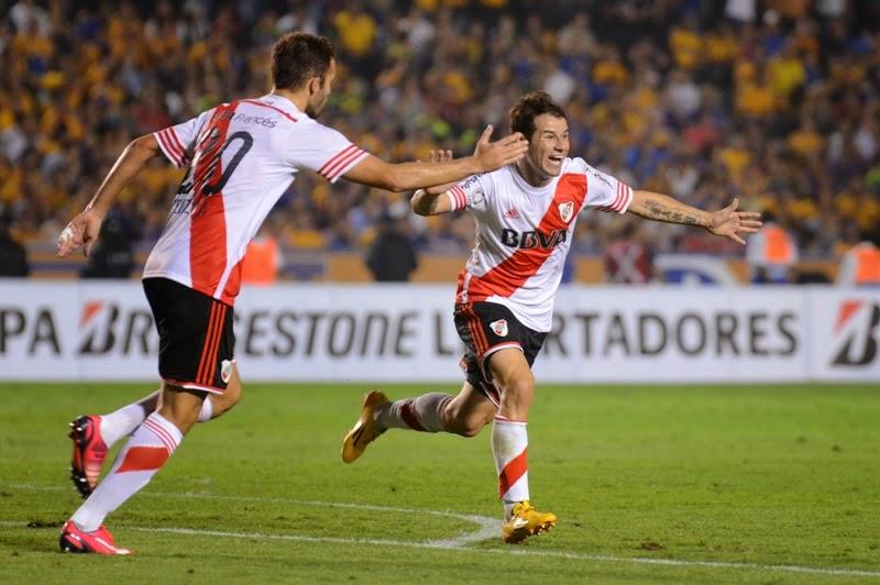 Mora, Gol, Tigres, River, River Plate, Empate, Agonico, Copa Libertadores, Libertadores, 2015