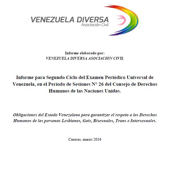 Conoce aporte VeneDiver al EPU 2016