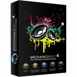 MediaMonkey Gold 4.1.18.1853 poster box cover