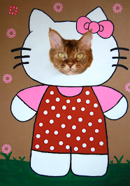 Mitalee as Hello Kitty