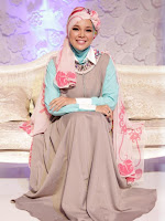 Kreasi Hijab Lebaran 2015