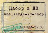 Набор в ДК блога Challenge-km-shop