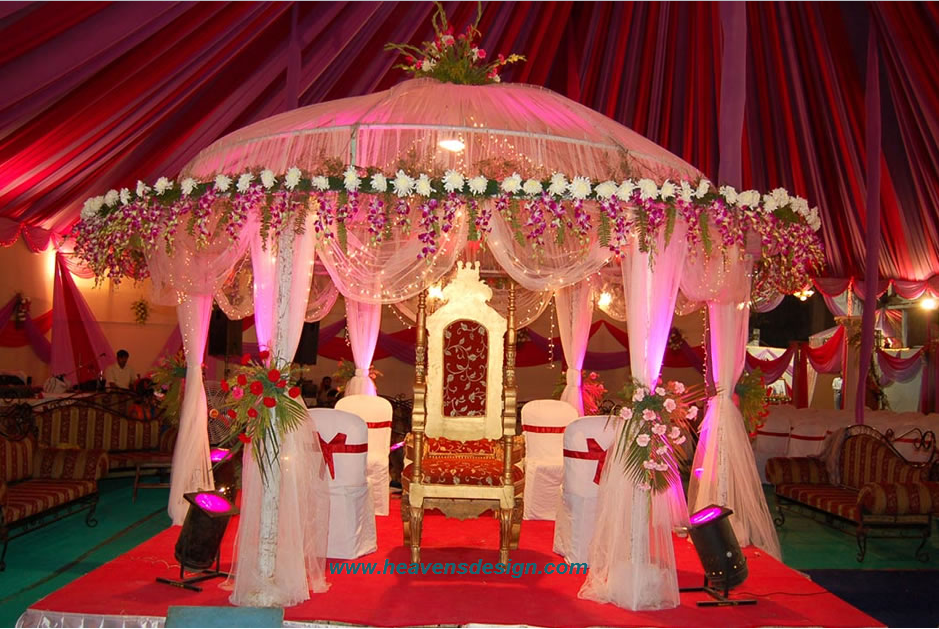 Indian wedding hall decoration ideas interior design ideas for Wedding decoration images