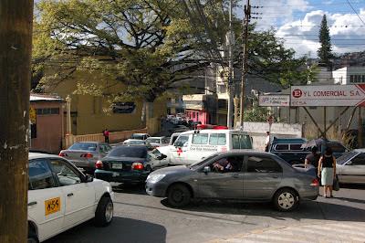 trafico honduras tegucigalpa carros vehiculos matricula transito