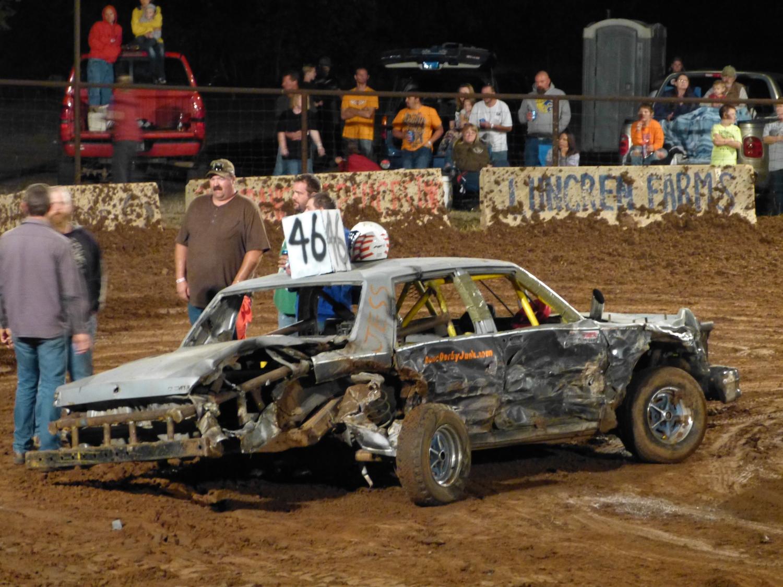 Building Demolition Derby Car : Marco goes america demolition derby figure race