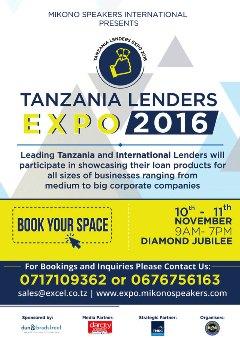 TANZANIA LENDERS EXPO 2016