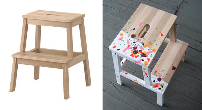 le petit yaka moderne peinture sur meuble conomique su dois personne n 39 aura le m me que toi. Black Bedroom Furniture Sets. Home Design Ideas