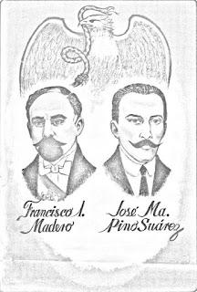 dibujos para colorear de la revolucion mexicana