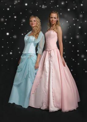 Vestido de fiesta 15 celeste