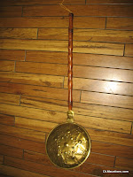 Brass Bed Warmer With Handle