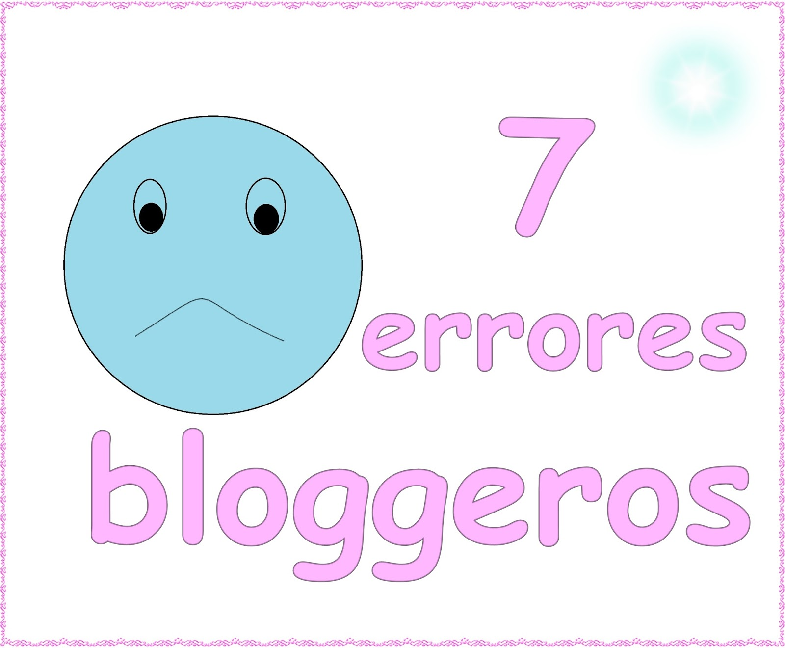 errores de las blogger