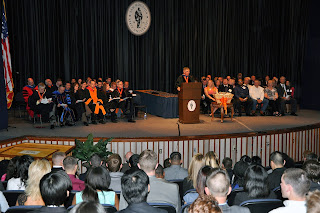 2013 Honors Convocation with faculty, donors and students