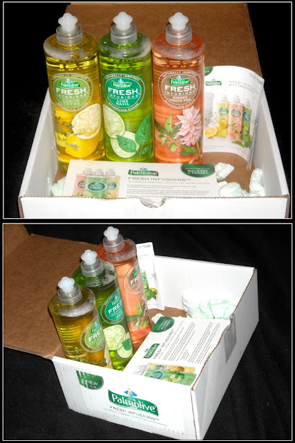 My Palmolive Fresh Infusions Vox Box from Influenster