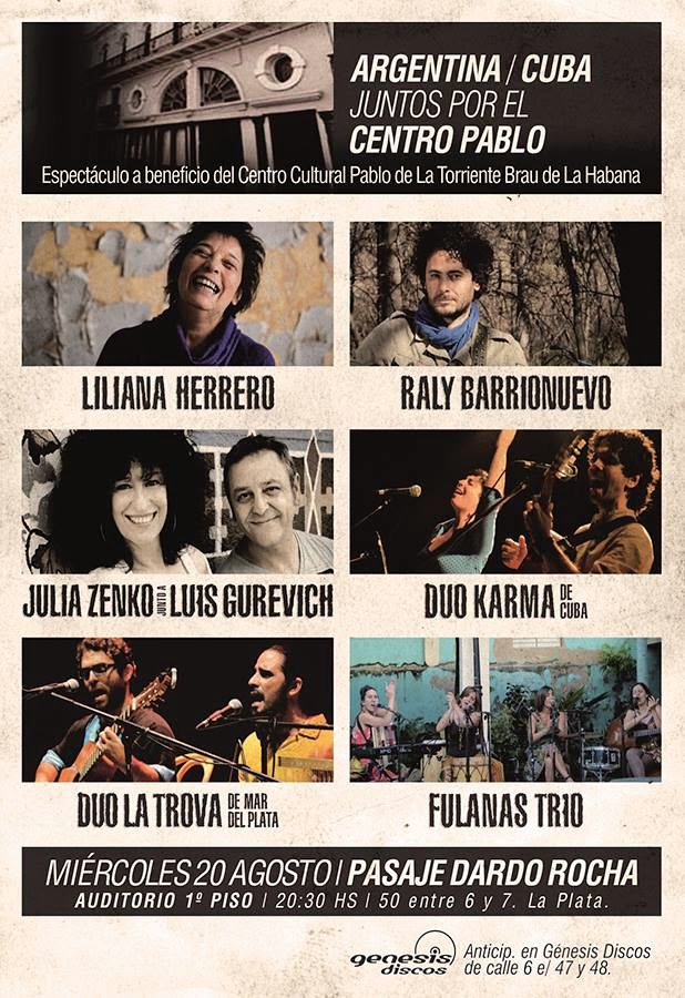 Cuba / Argentina Espectáculo Musical