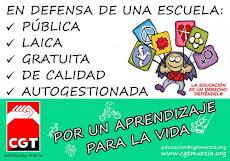CGT Murcia convoca HUELGA en la ENSEÑANZA PÚBLICA el martes 22 de Mayo