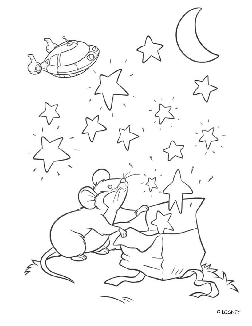 coloring pages with mice - photo#36