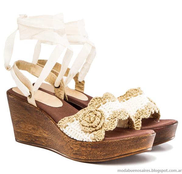 Viamo verano 2014. Sandalias y zapatos 2014.