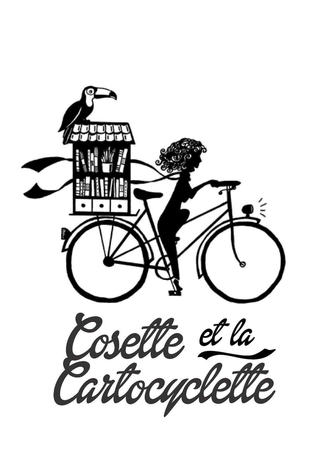 Suivez les aventures de Cosette et la Cartocyclette en cliquant sur l'image !