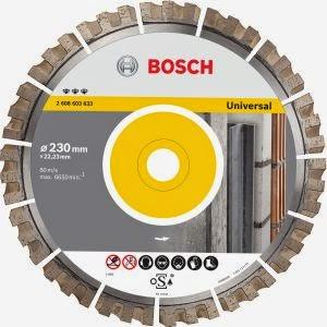 Noile discuri de taiere diamantate de la Bosch