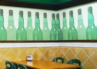 Asturias, sidrería, decoración