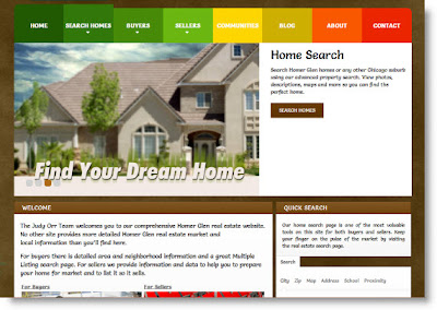 Homer Glen homes for sale website