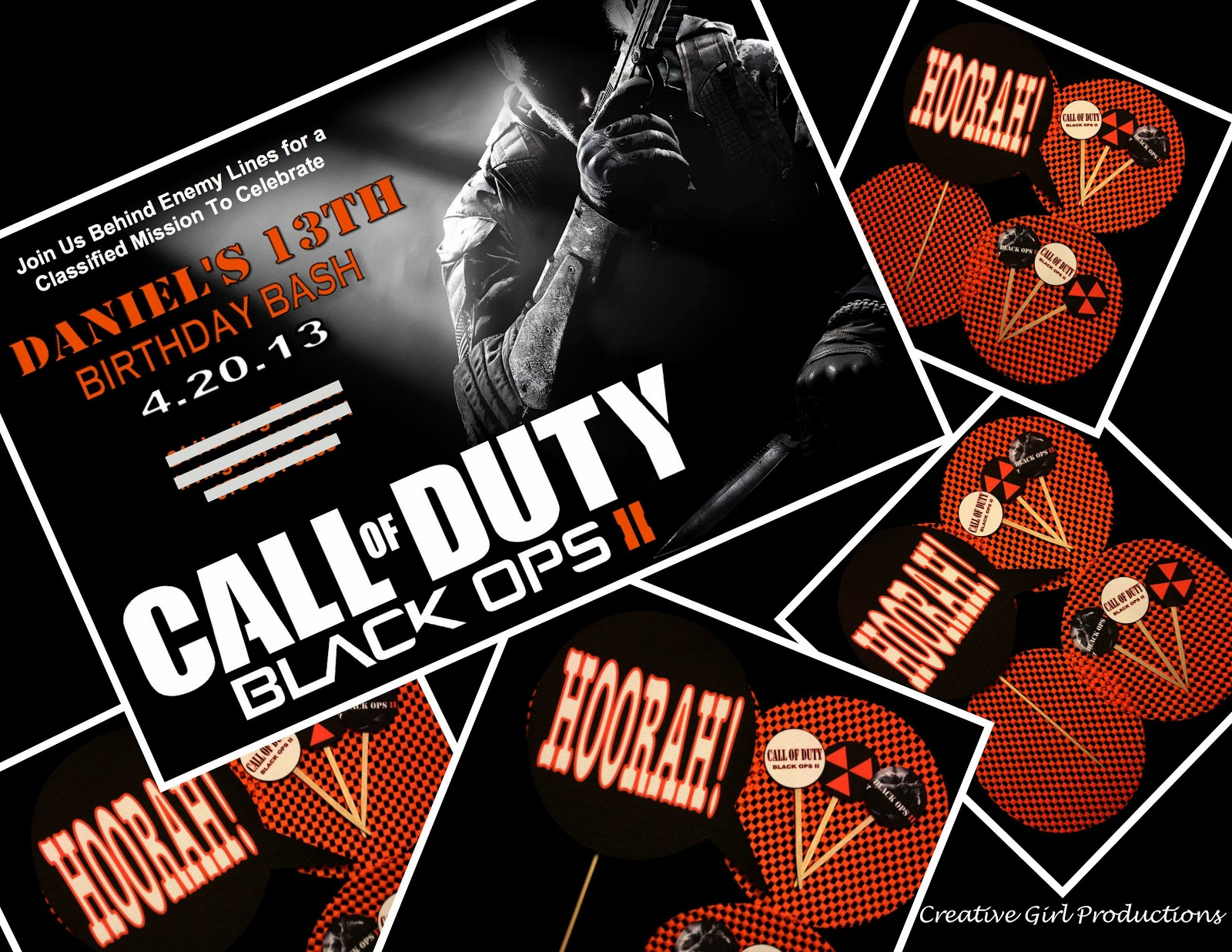 Call of Duty: Black Ops II - 13th Birthday Party!!!